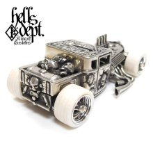 "Other Images2: JDC13 X REDRUM 【""JOKER"" NEW HELLS DEPT SHAKER (FINISHED PRODUCT)】(WHITE METAL)"