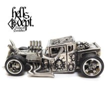 "Other Images1: JDC13 X REDRUM 【""BERO"" NEW HELLS DEPT SHAKER (FINISHED PRODUCT)】(WHITE METAL)"