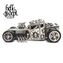 "Other Images2: JDC13 X REDRUM 【""BLUE EYE"" NEW HELLS DEPT SHAKER (FINISHED PRODUCT)】(WHITE METAL)"