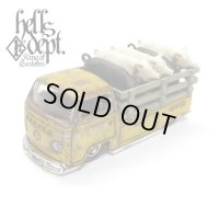 "KATSUNUMA SEISAKUSYO 【VOLKSWAGEN T2 ""PIG UP"" TYPE-5 (FINISHED PRODUCT)】YELLOW/RR"