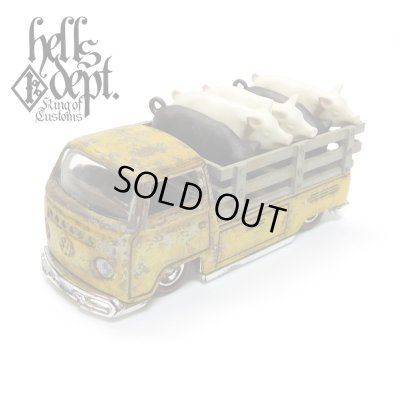 "Photo1: KATSUNUMA SEISAKUSYO 【VOLKSWAGEN T2 ""PIG UP"" TYPE-5 (FINISHED PRODUCT)】YELLOW/RR"