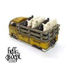 "Other Images2: KATSUNUMA SEISAKUSYO 【VOLKSWAGEN T2 ""PIG UP"" TYPE-5 (FINISHED PRODUCT)】YELLOW/RR"