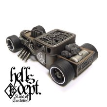 "Other Images2: JDC13 X REDRUM 【RATROD ""RED EYE"" (FINISHED PRODUCT)】BROWN/RR"