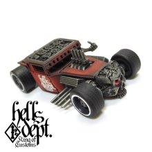 "Other Images3: JDC13 X REDRUM 【RATROD ""RED EYE"" (FINISHED PRODUCT)】RED/RR"