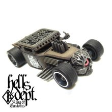 "Other Images3: JDC13 X REDRUM 【RATROD ""RED EYE"" (FINISHED PRODUCT)】BROWN/RR"