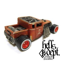 Other Images2: JDC13 【BONE SHAKER (FINISHED PRODUCT)】RUST RED/RR