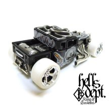 "Other Images2: JDC13 【DEVIL SHAKER ""KOZURU CUSTOM TATOO"" (FINISHED PRODUCT)】BLACK/RR"