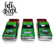 "Other Images2: BOO Pinstriping 【""MYSTERY CAR"" RAT FINK '83 CHEVY SILVERADO with HELLS DEPT CHASSIS (FINISHED PRODUCT)】"