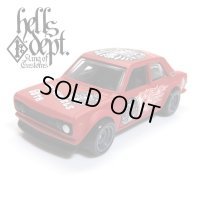 "【""DARUMA"" DATSUN 510 (FINISHED PRODUCT)】 FLAT RED/RR"