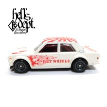 "Other Images1: 【""DARUMA"" DATSUN 510 (FINISHED PRODUCT)】 FLAT WHITE/RR"