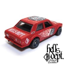 "Other Images2: 【""DARUMA"" DATSUN 510 (FINISHED PRODUCT)】 FLAT RED/RR"