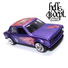 "Other Images3: 【""DARUMA"" DATSUN 510 (FINISHED PRODUCT)】 FLAT PURPLE/RR"