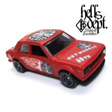 "Other Images3: 【""DARUMA"" DATSUN 510 (FINISHED PRODUCT)】 FLAT RED/RR"