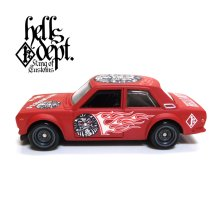 "Other Images1: 【""DARUMA"" DATSUN 510 (FINISHED PRODUCT)】 FLAT RED/RR"