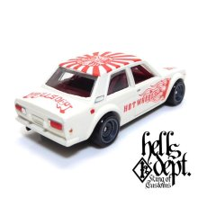 "Other Images2: 【""DARUMA"" DATSUN 510 (FINISHED PRODUCT)】 FLAT WHITE/RR"