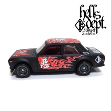 "Other Images1: 【""DARUMA"" DATSUN 510 (FINISHED PRODUCT)】 FLAT BLACK/RR"