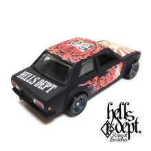 "Other Images2: 【""DARUMA"" DATSUN 510 (FINISHED PRODUCT)】 FLAT BLACK/RR"