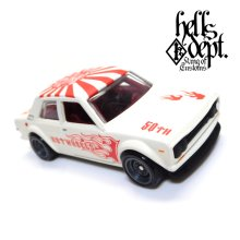 "Other Images3: 【""DARUMA"" DATSUN 510 (FINISHED PRODUCT)】 FLAT WHITE/RR"