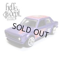 "【""DARUMA"" DATSUN 510 (FINISHED PRODUCT)】 FLAT PURPLE/RR"