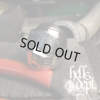 """PRODUCTION BY ORDER 【F.T.P. """"OUTLAW"""" SILVER RING】 SILVER 925 (Shipping about 1 month after ordering)"""