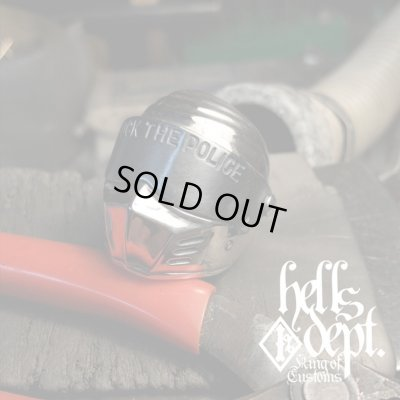 """Photo1: PRODUCTION BY ORDER 【F.T.P. """"OUTLAW"""" SILVER RING】 SILVER 925 (Shipping about 1 month after ordering)"""