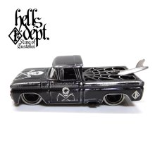 "Other Images1: PRE-ORDER - JDC13 【""SKULL CUSTOM"" '62 CHEVY PICKUP (FINISHED PRODUCT)】 BLACK/RR (EXPECTED SHIP DATE MAR 18, 2019)"