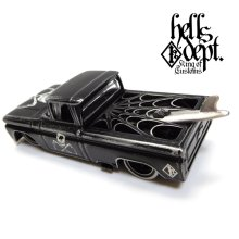 "Other Images2: PRE-ORDER - JDC13 【""SKULL CUSTOM"" '62 CHEVY PICKUP (FINISHED PRODUCT)】 BLACK/RR (EXPECTED SHIP DATE MAR 18, 2019)"