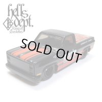 "JDC13 【""DARUMA"" '83 CHEVY SILVERADO with TONNEAU COVER (FINISHED PRODUCT)】 BLACK/RR"