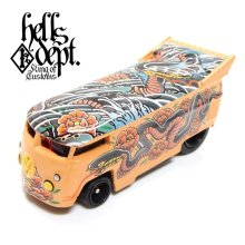 "Other Images3: HELLS DEPT- DECAL 【""YAKUZA"" SNAKE】(for VW DRAG BUS)"