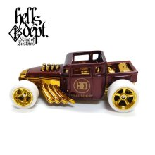 "Other Images1: JDC13 【""HD"" BONE SHAKER (FINISHED PRODUCT)】BROWN/RR"