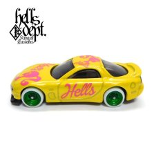 "Other Images1: JDC13 【""HELLBIE"" '95 MAZDA RX-7 (FINISHED PRODUCT)】YELLOW/RR"