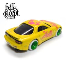 "Other Images2: JDC13 【""HELLBIE"" '95 MAZDA RX-7 (FINISHED PRODUCT)】YELLOW/RR"