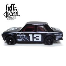"""Other Images1: JDC13 【""""HELLS DEPT 9th ANNIVERSARY MODEL VOL.3"""" DATSUN 510 (FINISHED PRODUCT)】 BLACK/RR"""