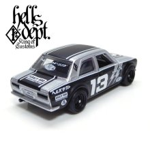 "Other Images2: JDC13 【""HELLS DEPT 9th ANNIVERSARY MODEL VOL.2"" DATSUN 510 (FINISHED PRODUCT)】 SILVER/RR"