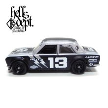 "Other Images1: JDC13 【""HELLS DEPT 9th ANNIVERSARY MODEL VOL.2"" DATSUN 510 (FINISHED PRODUCT)】 SILVER/RR"