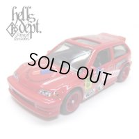 "JDC13 【""HELLS"" '90 HONDA CIVIC EF (FINISHED PRODUCT)】 RED/RR (MYSTERY PACKED)"
