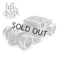 "JDC13 X REDRUM 【""FxxK YOU"" HELLS DEPT SHAKER (FINISHED PRODUCT)】(FULL WHITE METAL)"