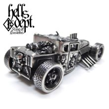 "Other Images2: JDC13 X REDRUM 【""RED EYE"" HELLS DEPT SHAKER (FINISHED PRODUCT)】(FULL WHITE METAL)"