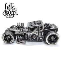 "Other Images1: JDC13 X REDRUM 【""FxxK YOU"" HELLS DEPT SHAKER (FINISHED PRODUCT)】(FULL WHITE METAL)"