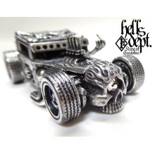 "Other Images3: JDC13 X REDRUM 【""WHITE EYE"" HELLS DEPT SHAKER (FINISHED PRODUCT)】(FULL WHITE METAL)"