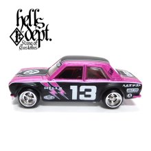 "Other Images1: JDC13 【""HELLS DEPT 9th ANNIVERSARY MODEL VOL.7"" DATSUN 510 (FINISHED PRODUCT)】 PINK/RR"