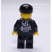 "Other Images3: HELLS DEPT- DECAL 【""MINI FIG""】(for LEGO)"