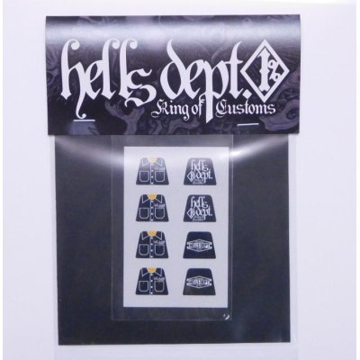 "Photo1: HELLS DEPT- DECAL 【""MINI FIG""】(for LEGO)"