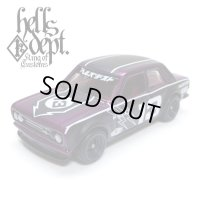 "JDC13 【""HELLS DEPT 9th ANNIVERSARY MODEL VOL.8"" DATSUN 510 (FINISHED PRODUCT)】 PURPLE/RR"