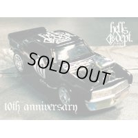 "PRE-ORDER - JDC13 【HELLS DEPT 10th ANNIVERSARY - '67 CAMARO ""HELLS 10th"" (FINISHED PRODUCT)】 BLACK/RR (EXPECTED SHIP DATE JUN 30, 2020)"