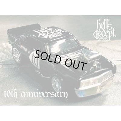 "Photo1: PRE-ORDER - JDC13 【HELLS DEPT 10th ANNIVERSARY - '67 CAMARO ""HELLS 10th"" (FINISHED PRODUCT)】 BLACK/RR (EXPECTED SHIP DATE JUN 30, 2020)"