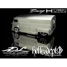 Other Images1: DOUBLE LOSER[S] 【DRAG H-VAN for VW DRAG BUS (CUSTOM PARTS)】(WHITE METAL)