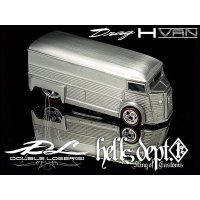 DOUBLE LOSER[S] 【DRAG H-VAN for VW DRAG BUS (CUSTOM PARTS)】(WHITE METAL)